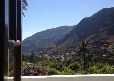 El Molino Blick vom Fenster