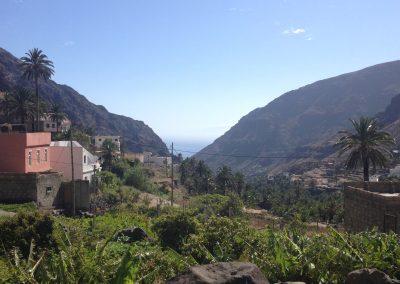 El Molino Blick von der Terrasse